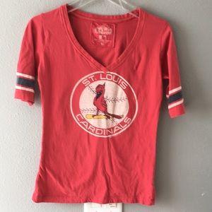MLB- St Louis Cardinals women shirt- size M